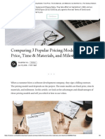 Comparing 3 Popular Pricing Models_ Fixed-Price, Time & Materials, and Milestone _