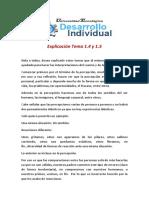 Explicación Tema 1.4 y 1.5