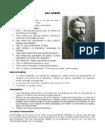 Weber, Durkheim y Marx