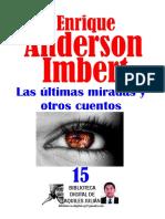 Anderson, Enrique - Las ultimas miradas y otros cuentos