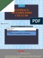Enzimas e Metabolismo Celular