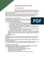 Cours5 Épidémiologie et indicateurs associés