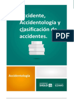 Accidente, Accidentología y clasificación de accidentes