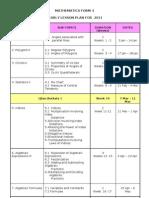 MATHEMATICS FORM 3-1