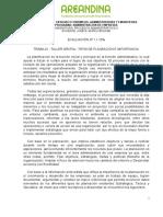 EVALUCIÓN 1. TALLER TIPOS DE PLANEACIÓN PROCESOS ADMINISTRATIVOS II-convertido