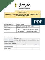 CARGUE Y DESCARGUE DE SUELO CON CARGADORES Y CAMIÓN DE ACARREO.pdf
