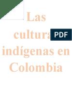 Las culturas indígenas en Colombia