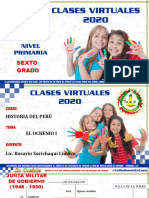 6 º-GRADO-CLASES