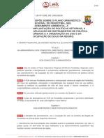 Plano urbanístico regional de Pendotiba - Lei nº 3195 2016