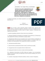 Plano urbanístico da Região Norte - Lei nº 2233 2005