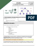 Cours sur la topologie des reseaux (1)