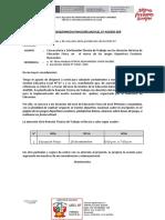 OM 262 - REUNION TECNICA DE EDUCACIÓN FISICA