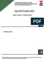 Arquitectura Hoy-UNPRG-Clase1Conceptos