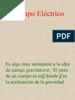 FIS3 Campo Electrico y Ley de Gauss