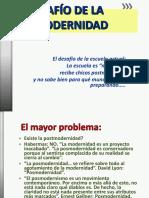 EL DESAFÍO DE LA POSMODERNIDAD