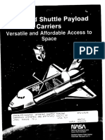 Attached Shuttle Payload Carriers Versatile and Affordable Access to Space