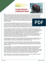 Main Engine Advanced Health Management System