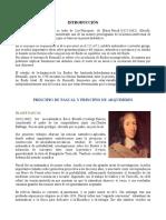PRINCIPIO DE PASCAL Y ARQUIMIDEZ -