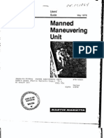 Manned Maneuvering Unit User's Guide
