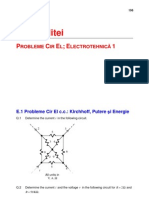 Circuite Electrice - Probleme