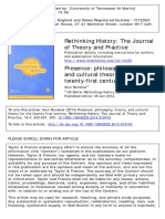 Rethinking History Volume 18 issue 4 2014 [doi 10.1080_13642529.2014.919743] Munslow, Alun -- Presence- philosophy, history, and cultural theory for the twenty-first century (1)