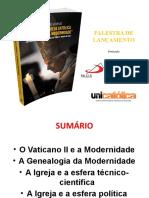 Bento XVI e a modernidade - UNISAL