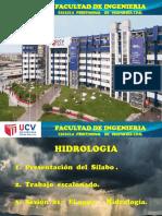 SESION 1-20201- INTRODUCCION ALA HIDROLOGIA