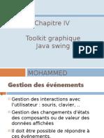 Chap IV  pptp - Toolkit graphique- Java Swing V5- Gestion des evenements V5E 1.pdf