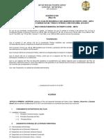 Plan de De Desarrollo 2012-2015