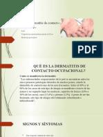Gattist dermatitis de contato ocupacional