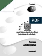 Procesos Admnistrativos - 7