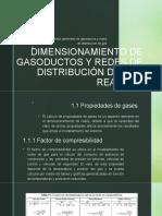 DIMENSIONAMIENTO DE GASODUCTOS Y REDES DE DISTRIBUCIÓN DE.pptx