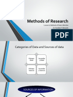 Methods of Research-lession 6