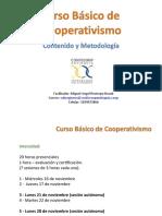 Curso Basico Cooperativa Agropecuaria Yondo - Contenido y metodología