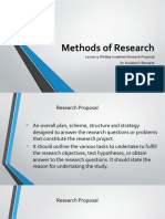 Methods of Research-lession 9