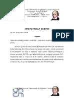 SISTEMATIZACION DE LOS ENCUENTROS
