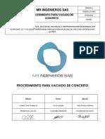 3019382-CIV-PR05 VACIADO DE CONCRETO
