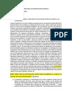 EXAMEN FINAL DE ALFABETIZACIÓN ACADÉMICA