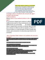 GRUPO 4 - INFORME AUDITORIA HIDRICA