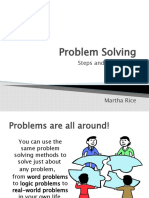 Problem Solving and Chess