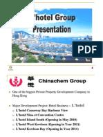 Website L'hotel Presentation