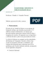 pland de erradicacion en el metro de la ciudad de mexico
