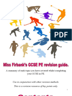 PE GCSE revision workbook