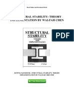 structural-stability-theory-implementation-by-wai-fah-chen