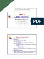 algebra Pablo Alarcn