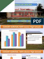 management plan adjustment  3rd Quarter