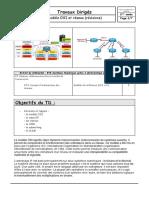 TD sur le modele OSI et reseau