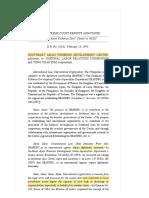 SEAFDEC v. NLRC