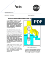 NASA Facts Bolt Catcher Modifications on the Solid Rocket