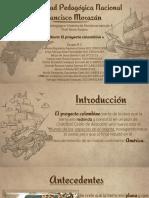 El Proyecto Colombino, Historia de Honduras